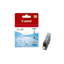 Cartuccia Canon CLI 521 CIANO compatibile