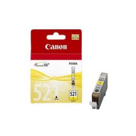 Cartuccia Canon CLI 521 yellow compatibile