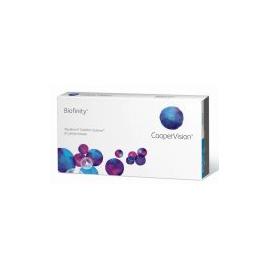 Lenti a contatto mensili Biofinity coopervision confezione da 3lac
