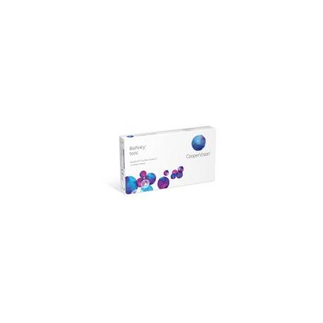 lenti a contatto mensili Biofinity Toric coopervision per astigmatismo conf. da 3 lac