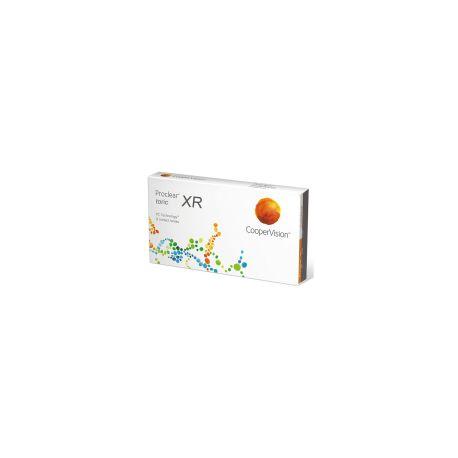 Lenti a contatto mensili Proclear Toric XR per Astigmatismo coopervision confezione da 3 lac