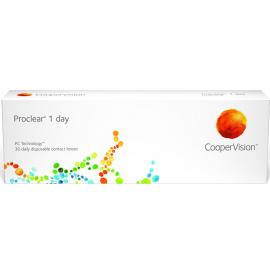 Lenti a contatto giornaliere Proclear 1day coopervision confezione da 30 lac